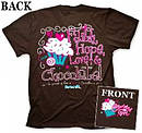 T-Shirt Chocolate        X-LARGE