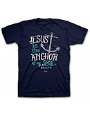 T-Shirt Anchor Adult Medium