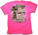 Cherished Girl Adult T-Shirt Camo and Pearls Large