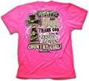 Cherished Girl Adult T-Shirt Camo and Pearls XL