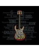 T-Shirt Amazing Guitar Adult 2XL