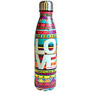 Love Doodle Stainless Steel Water Bottle