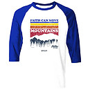 Mountain Stripes Raglan T-Shirt, Medium