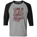 Philippians Raglan T-Shirt, Small