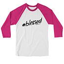 Hashtag Raglan T-Shirt, Medium