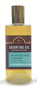 Anointing Oil Frankincense And Myrrh 3.5oz Altar Size