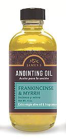 Anointing Oil Frankincense And Myrrh 4oz Refill