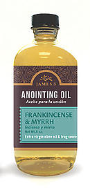 Anointing Oil Frankincense And Myrrh 8oz Refill