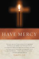 Have Mercy Bulletin (Pack of 100)