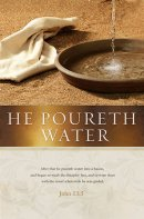 He Poureth Water Bulletin (Pack of 100)