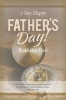 Very Happy Father's Day Bulletin (Pack of 100)