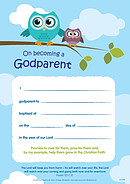 Certificate - Godparent - Pack of 10