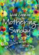 With Love On Mothering Sunday Postcard Pack of 20