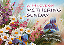 With Love on Mothering Sunday - Postcards Pack of 20