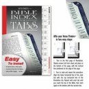 Bible Index Tabs Silver