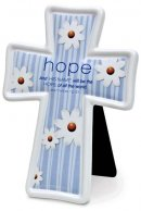 Encouragement Ceramic Cross: Hope