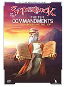 Superbook: The Ten Commandments DVD