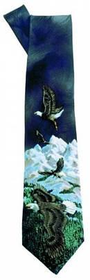 Tie: Eagles Black