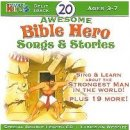 20 Awesome Bible Hero Songs And Stories CD