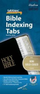 Bible Index Tabs Mini Gold