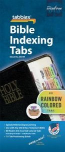 Bible Index Tabs Rainbow (Child)
