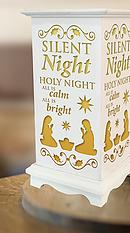Silent Night Holy Night Lantern