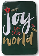 Joy to the World Metal Tin