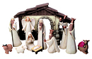 "4"" Figure Nativity Set"