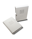 Good News Bible: Compact, White, Leather Like