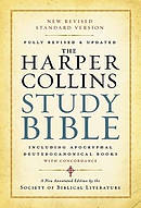 NRSV Harper Collins Study Bible Revised Edition Paperback