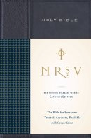 NRSV Standard Catholic Edition Bible Anglicised Hardback Navy Blue