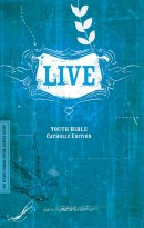 NRSV Live Youth Bible Catholic Edition Paperback Blue