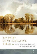 NRSV Daily Contemplative Bible Brown Imitation Leather