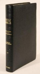 KJV Old Scofield Study Bible Classic Edition BLack Classic Bonded Leather