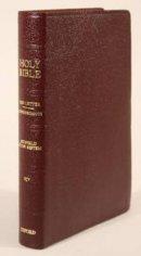 KJV Old Scofield Study Bible Classic Edition Bonded Leather Burgundy
