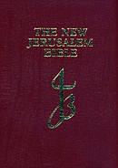 New Jerusalem Pocket Bible: Red, Leather