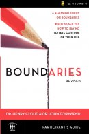 Boundaries Partcipant's Guide Revised Edition