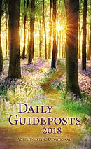 Daily Guideposts 2018 Large Print