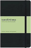NASB Skinii Bible: Imitation Leather, Elastic Clasp