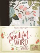 NKJV, Beautiful Word Bible, Hardcover, Multi-color Floral Cloth, Red Letter Edition