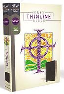Nrsv, Thinline Bible, Leathersoft, Black, Comfort Print
