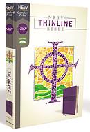 Nrsv, Thinline Bible, Leathersoft, Purple, Comfort Print