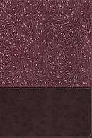 NRSV, Thinline Reference Bible, Large Print, Leathersoft, Burgundy, Comfort Print
