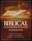 Introduction to Biblical Interpretation Workbook