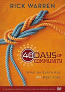 40 Days Of Community DVD Study