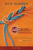 40 Days Of Community Devotional Pb