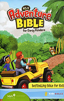 NIrV Adventure Bible For Early Readers: Hardback