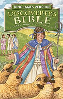 KJV Discoverers Bible Large Print Childrens Bible