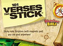 101 Verses that Stick for Kids based on the NIV Adventure Bible