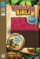 NIV, Adventure Bible, Imitation Leather, Pink/Brown, Full Color